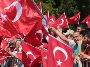 Viyana'da Erdoğan coşkusu