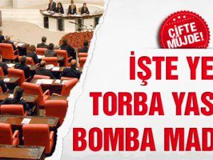 Yeni Torba Yasa'nın Bomba Maddeleri