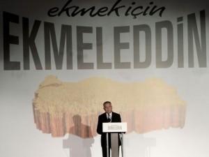 'Ekmek için Ekmeleddin' sloganı twitter'ı salladı