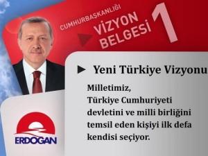 İşte 20 karede Erdoğan'ın vizyon belgesi