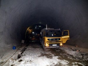 Türkiye'nin en uzun tünelinde son viraj