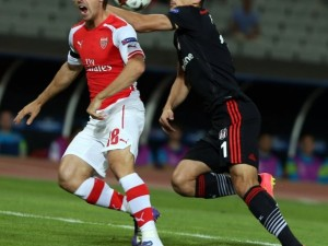 Beşiktaş Arsenal'e top göstermedi