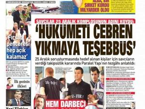 2 Eylül 2014 gazete manşetleri