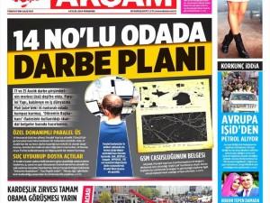 4 Eylül 2014 gazete manşetleri