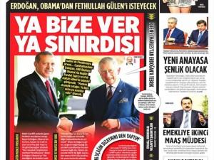 5 Eylül 2014 gazete manşetleri