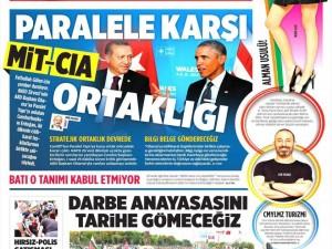 7 Eylül 2014 gazete manşetleri