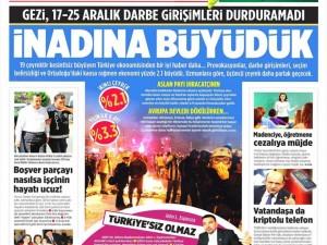 11 Eylül 2014 gazete manşetleri