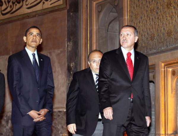 Erdoğan ve Obama arasındaki 34 fark 33