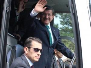 Başbakan Ahmet Davutoğlu, Kırşehir'de