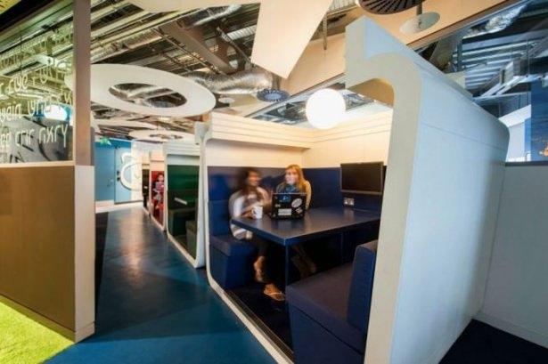 Google'ın Dublin'deki ofisine içeriden bakın 1