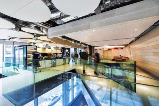 Google'ın Dublin'deki ofisine içeriden bakın 16