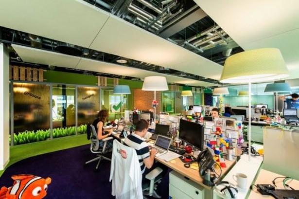 Google'ın Dublin'deki ofisine içeriden bakın 17