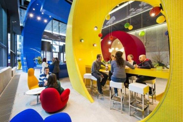 Google'ın Dublin'deki ofisine içeriden bakın 19