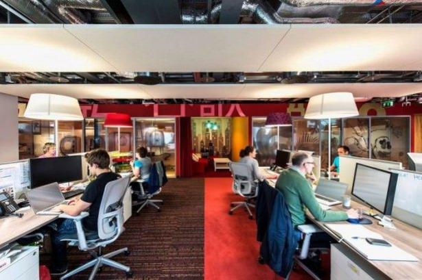Google'ın Dublin'deki ofisine içeriden bakın 21