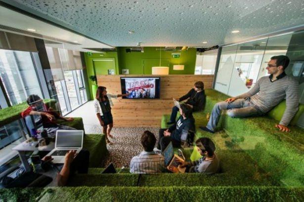 Google'ın Dublin'deki ofisine içeriden bakın 28
