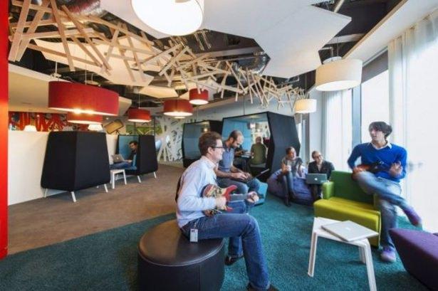 Google'ın Dublin'deki ofisine içeriden bakın 43