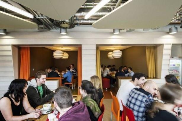 Google'ın Dublin'deki ofisine içeriden bakın 44
