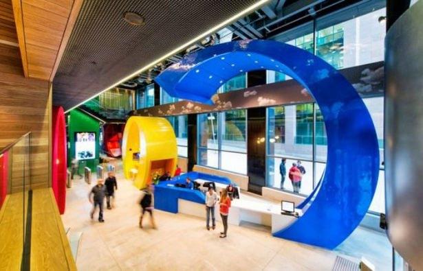 Google'ın Dublin'deki ofisine içeriden bakın 45