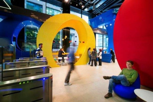 Google'ın Dublin'deki ofisine içeriden bakın 46