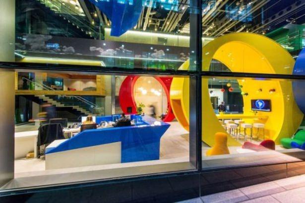 Google'ın Dublin'deki ofisine içeriden bakın 47