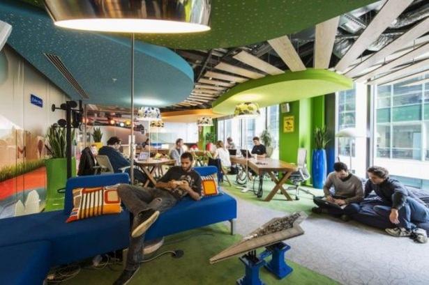 Google'ın Dublin'deki ofisine içeriden bakın 49