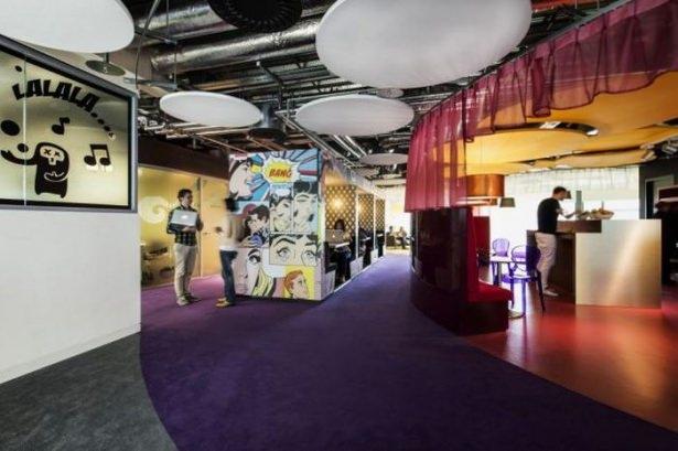 Google'ın Dublin'deki ofisine içeriden bakın 5