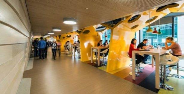 Google'ın Dublin'deki ofisine içeriden bakın 50