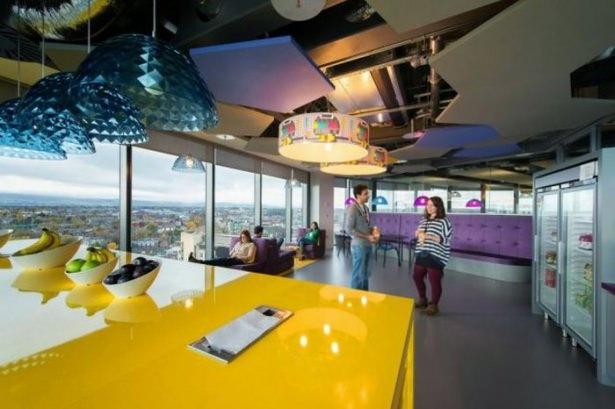Google'ın Dublin'deki ofisine içeriden bakın 6