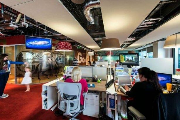 Google'ın Dublin'deki ofisine içeriden bakın 61