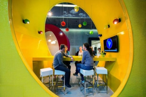 Google'ın Dublin'deki ofisine içeriden bakın 63