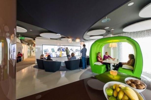 Google'ın Dublin'deki ofisine içeriden bakın 64