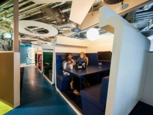 Google'ın Dublin'deki ofisine içeriden bakın