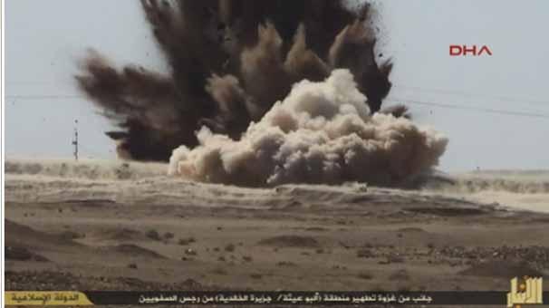 IŞİD, korkunç katliamın fotoğraflarını yayınladı 3