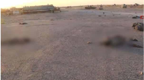 IŞİD, korkunç katliamın fotoğraflarını yayınladı 7