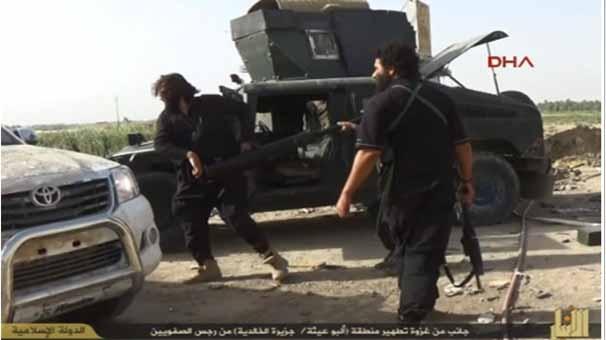 IŞİD, korkunç katliamın fotoğraflarını yayınladı 8