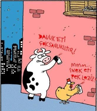 Birbirinden komik kurban karikatürleri 11