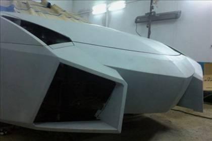 Lamborghini görünümlü Mitsubishi 18