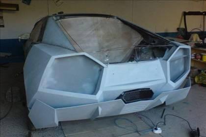 Lamborghini görünümlü Mitsubishi 27