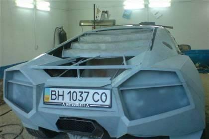 Lamborghini görünümlü Mitsubishi 28