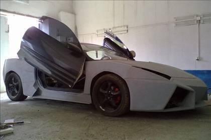 Lamborghini görünümlü Mitsubishi 34
