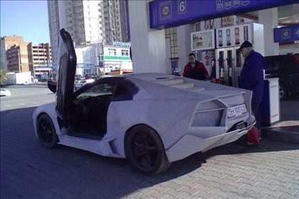 Lamborghini görünümlü Mitsubishi 37