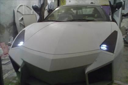 Lamborghini görünümlü Mitsubishi 40