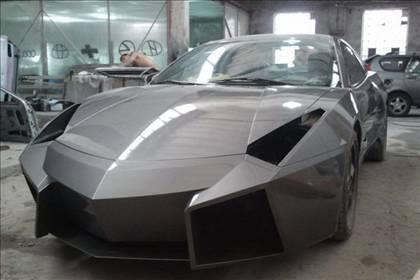 Lamborghini görünümlü Mitsubishi 49