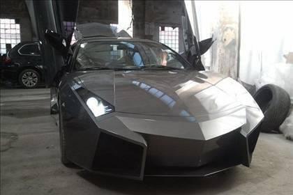 Lamborghini görünümlü Mitsubishi 53