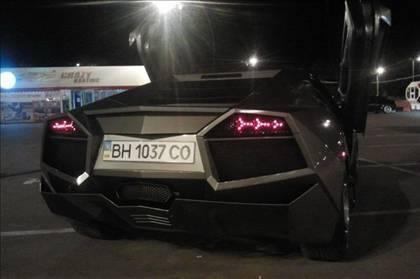 Lamborghini görünümlü Mitsubishi 59