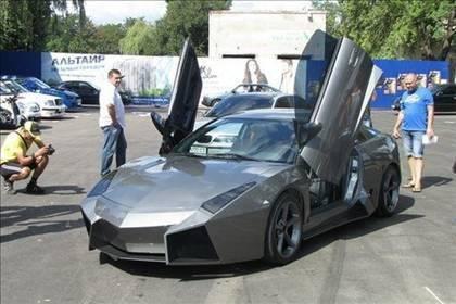 Lamborghini görünümlü Mitsubishi 60