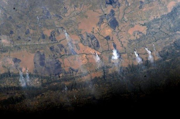 Dünyanın uzaydan çekilen harika fotoğrafları 8