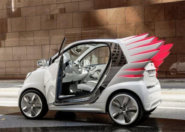 Geleceğin çılgın araba tasarımları 3