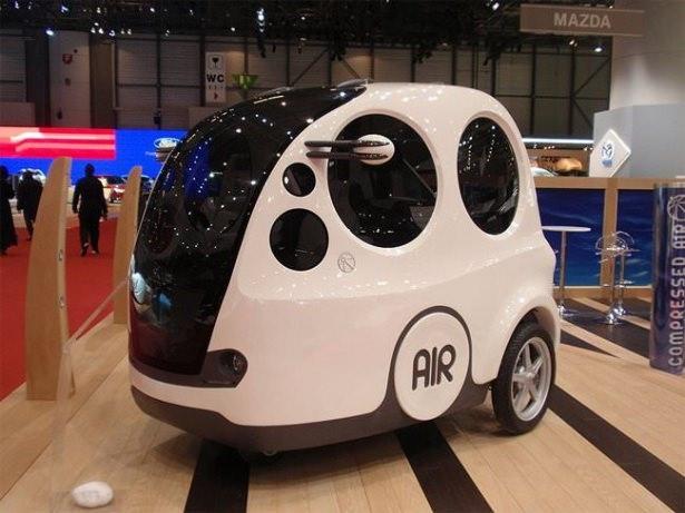 Geleceğin çılgın araba tasarımları 5