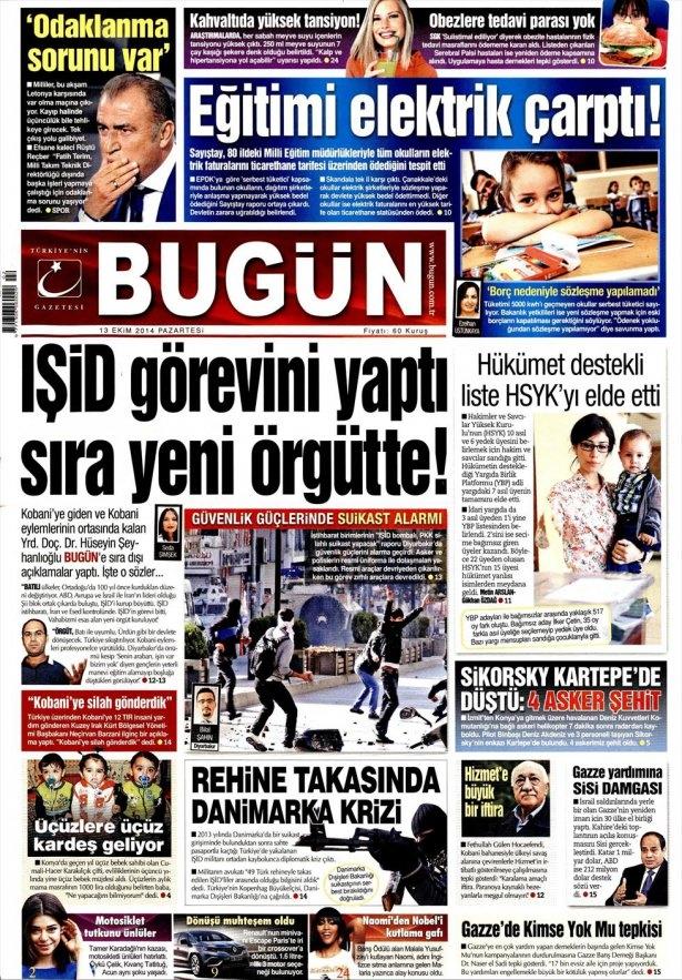 13 Ekim Gazete Manşetleri 4